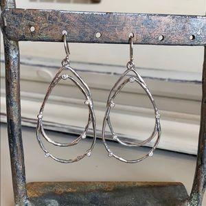 Gorgeous Silpada Cubic Zirconia Earrings